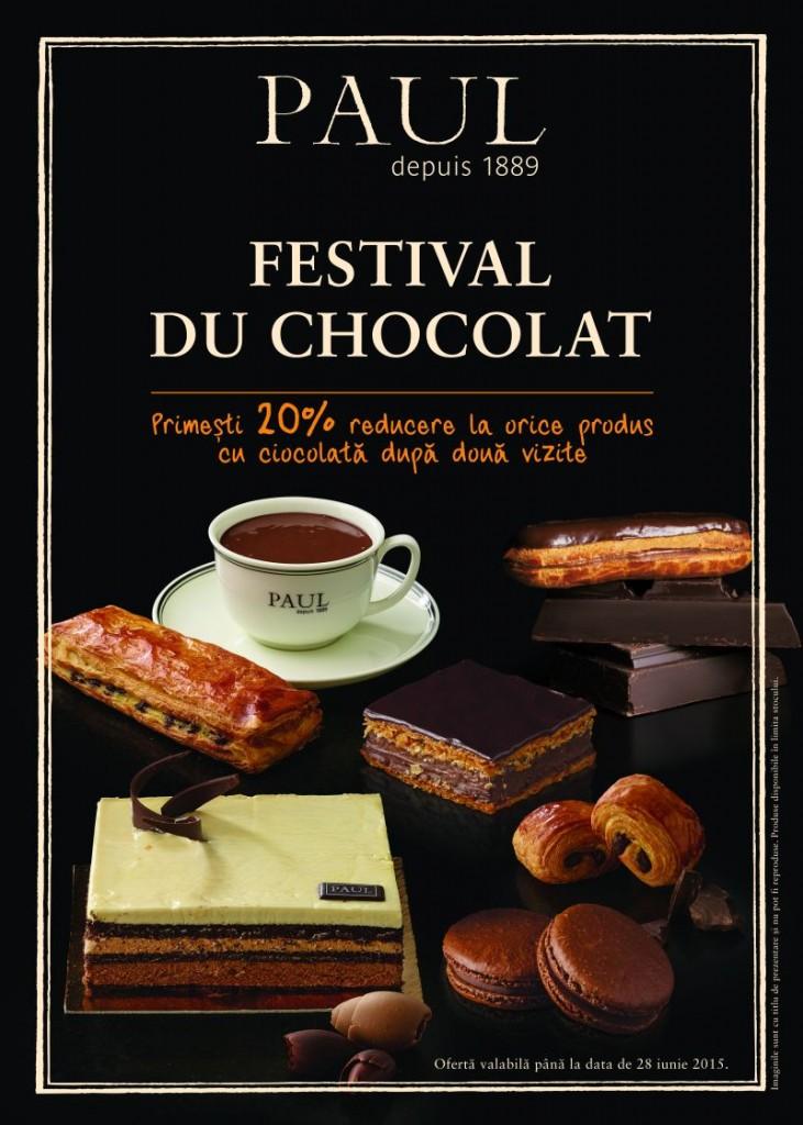 Festival du chocolat chez Paul