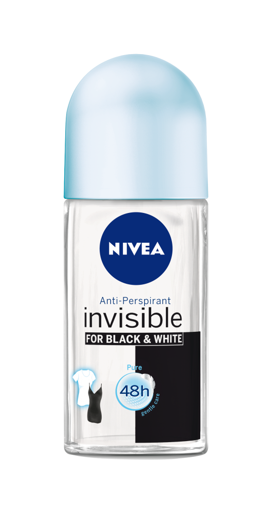 NIVEA DEO Invisible for Black&White Pure Women Roll On