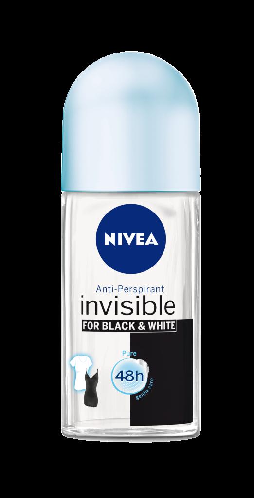 NIVEA DEO Invisible for Black&White Pure Women Roll On