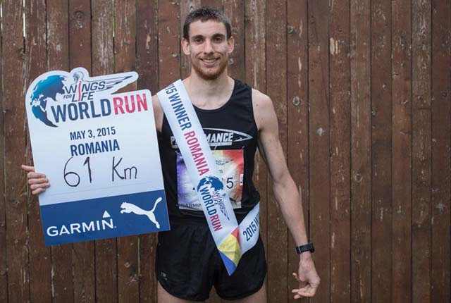 Wouter Decock, Locul 1 wings for     life world run