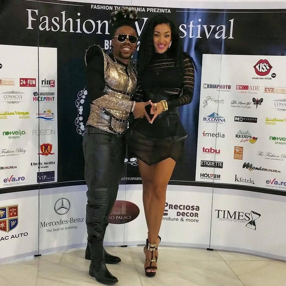 Nyanda wearing Andreea Dogaru