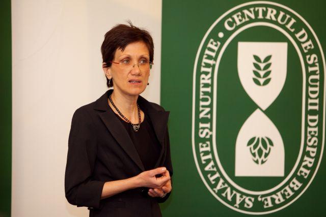 Corina Zugravu, Presedinte Centrul de Studii despre Bere, Sanatate si Nutritie