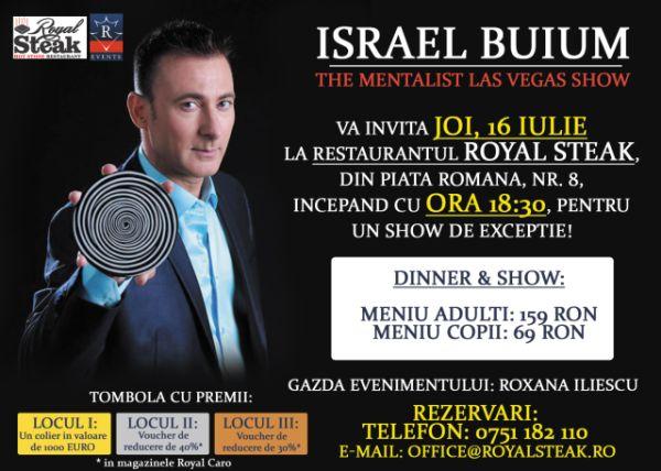 Israel Buium Invitatie
