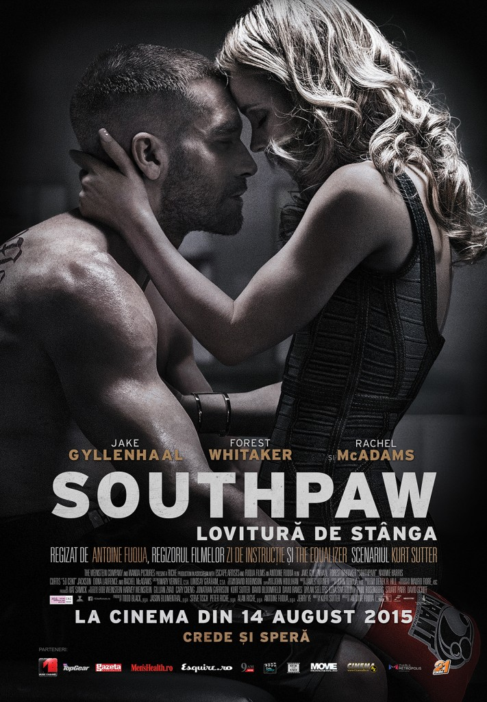 Afis_Southpaw - Lovitura de stanga