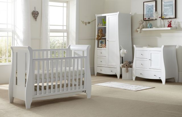Katie 3 Piece Room Set White