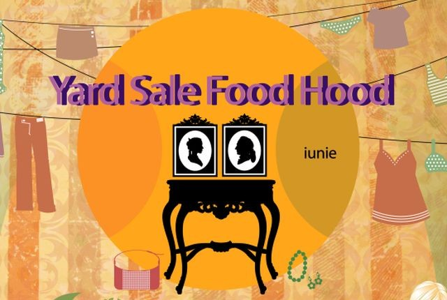 Yard Sale Food Hood crop