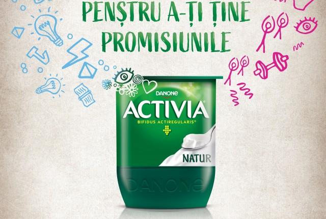 Tine-ti promisiunile cu Activia