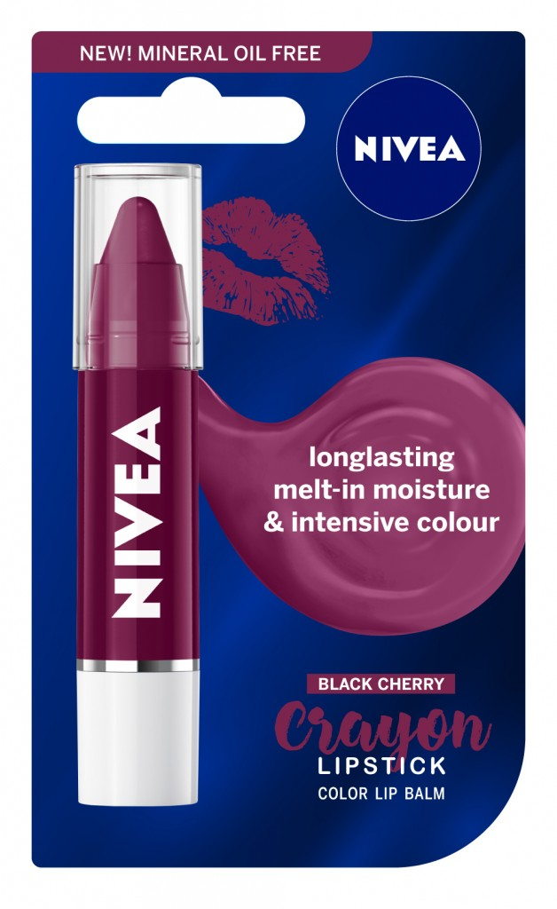 NIVEA Lipstick Crayon Black Cherry