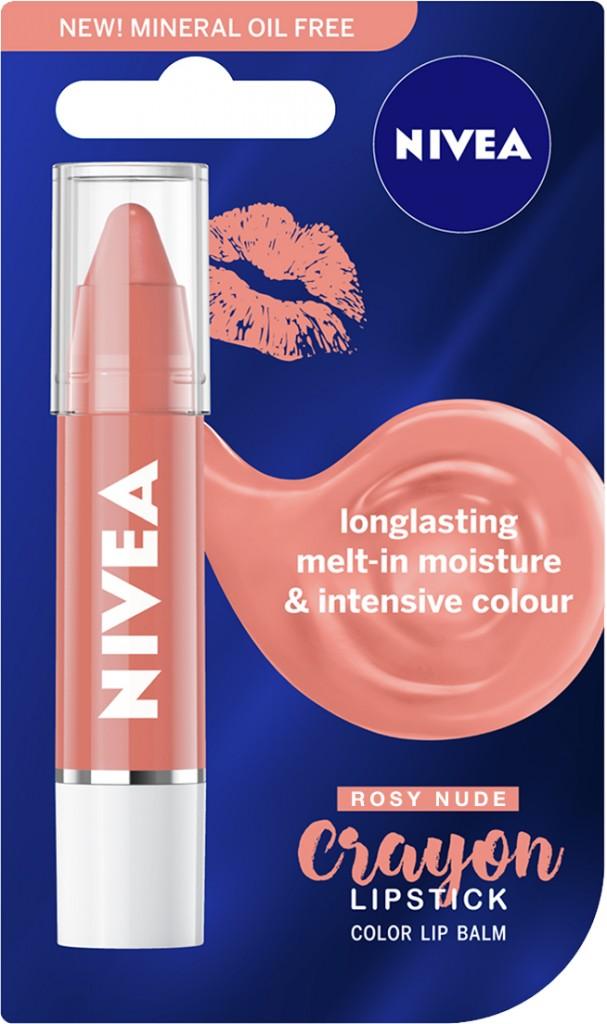NIVEA Lipstick Crayon Rosy Nude