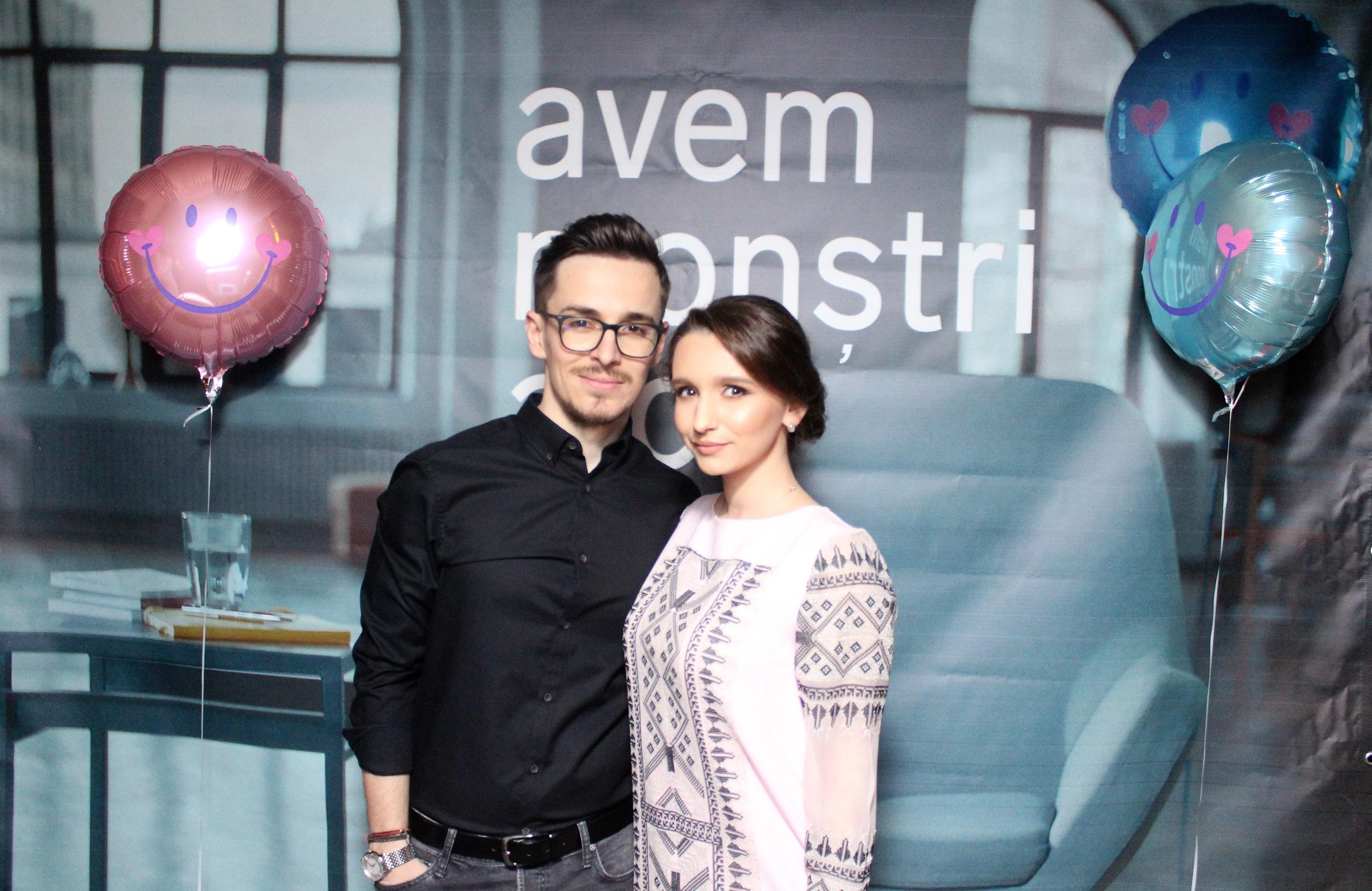 Andrei Leonte & Alice Bodescu, iubita lui