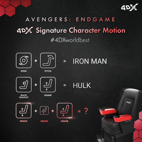 Avengers Endgame_The Signature Character Motion in 4DX