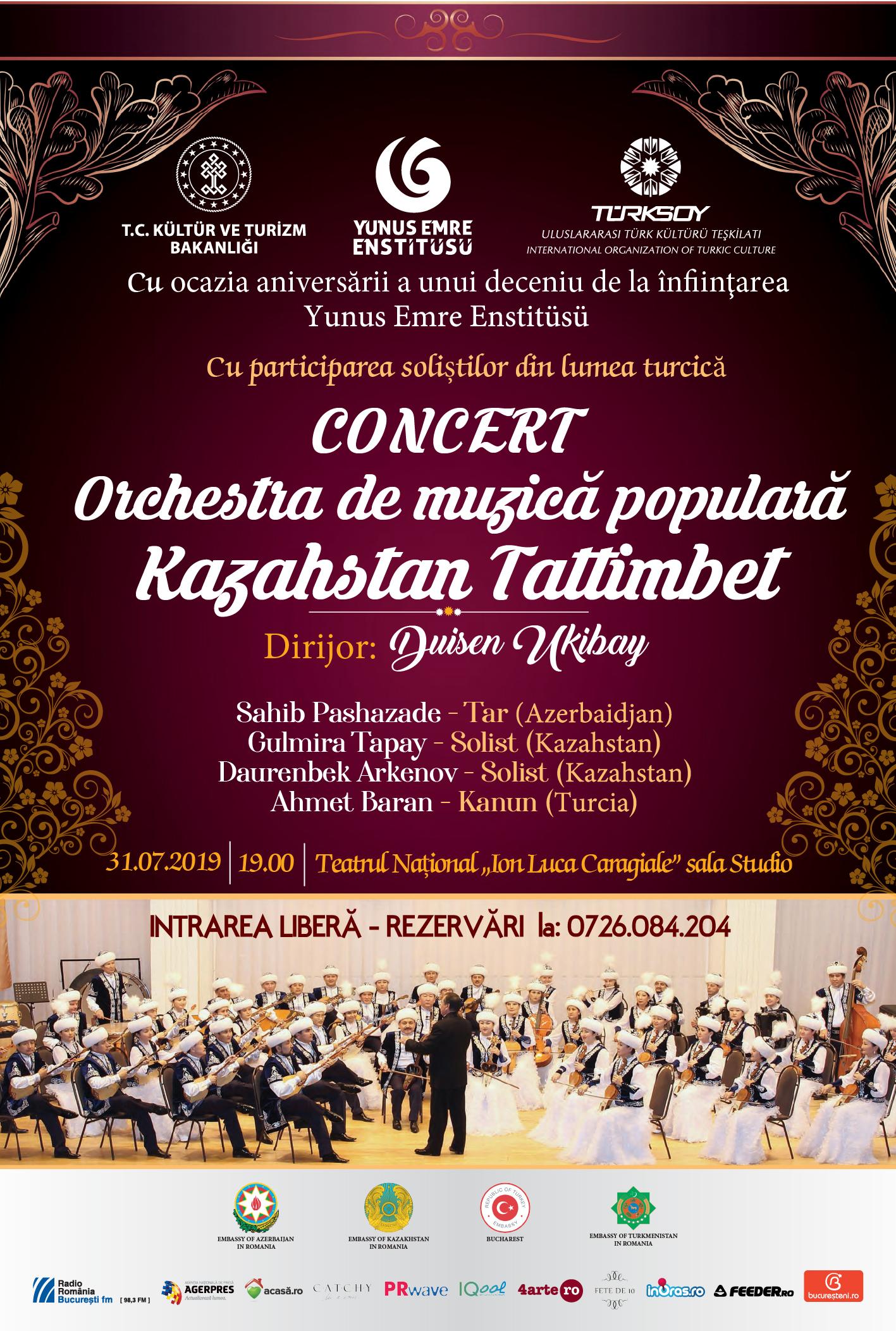 Concert aniversar Yunus Emre