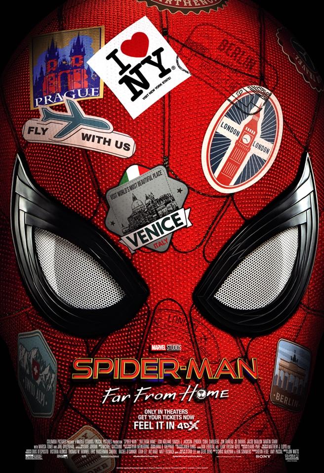 Spider-Man FH_4DX Poster
