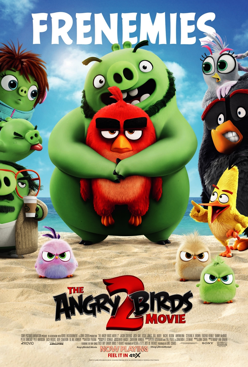 Angry Birds_4DX Poster