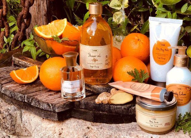 Ginger Orange - Gama de produse