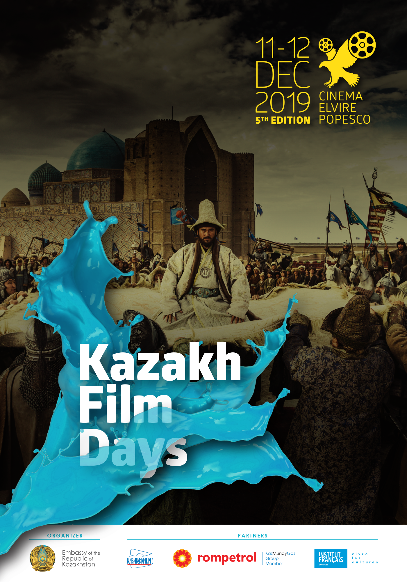 Poster Kazakh Film Days EN