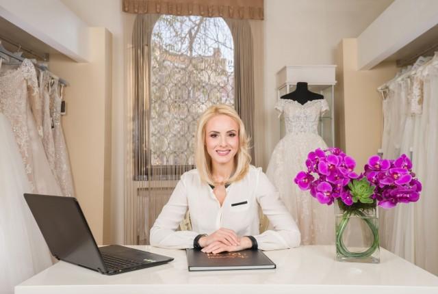 Adina Basalic, owner Vera Sposa
