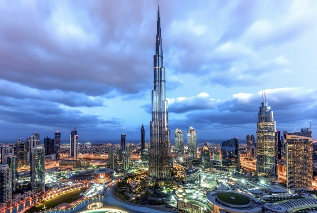 Burj Khalifa the world's tallest building
